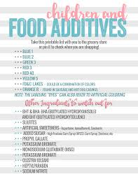 children u0026 food additives information u0026 dangers daily mom