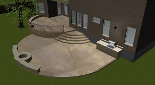 an austin two level concrete patio becomes a dance floor complete