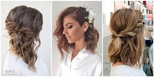 medium length hairstyles 24 lovely medium length hairstyles for fall weddings