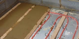 Water Underfloor Heating And Aluminium Spreader Plates - Under floor heating uk