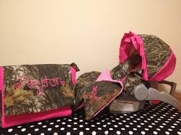 Pink Camo Bed Set Camouflage Baby Bedding Piece Set Mossy Oak Camo Fabric Infant