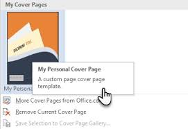 how to easily make an attractive cover page in microsoft word