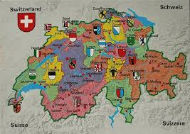 swiss map swiss cantons and regions where to find what when you visit