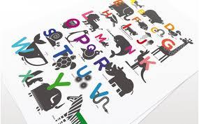 abc alphabet kids posters animal children u0027s wall art kids room