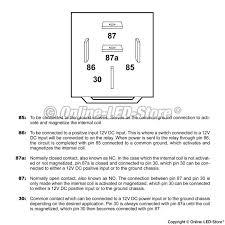 bosch spdt relay bosch 5 pin relay online led store