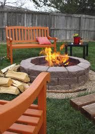 exterior simple backyard fire pit ideas simple fire pit ideas