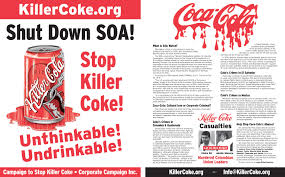 Coca Cola Can Six Flags Campaign To Stop Killer Coke Breaking News Archives 2010