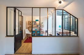 cloison verre bureau une verrière atelier pour séparer un bureau ou un espace de travail