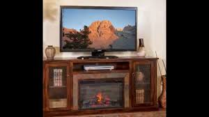 furniture tv stand with electric fireplace for living room
