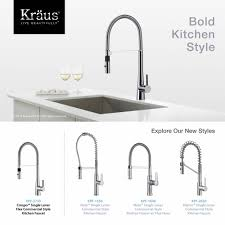 kitchen faucet installation kitchen faucet kraususa com