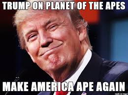 Planet Of The Apes Meme - trump on planet of the apes meme on imgur