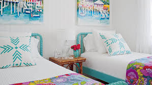 happy bedroom bright and colorful rooms coastal living
