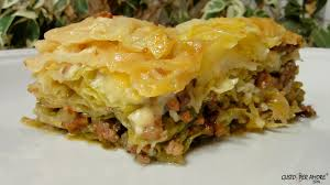 cabbage lasagna recipes with olive oil