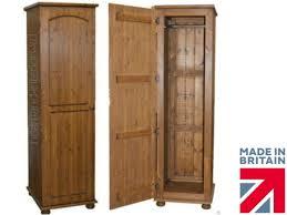 Solid Pine Bedroom Furniture Solid Pine 1 Door Single Wardrobe Handcrafted U0026 Waxed Pine