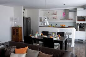 salon cuisine americaine cuisine ouverte sur salon m décoràlamaison salon salle a manger
