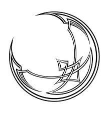 lunar celtic moon symbol designs