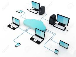 Home Server Network Design Home Electronic Devices Connected To Cloud Server Note All Devices