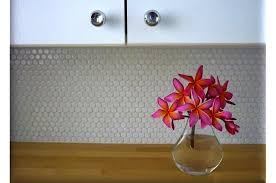 beautiful white hexagon tile backsplash design ideas u0026 decors