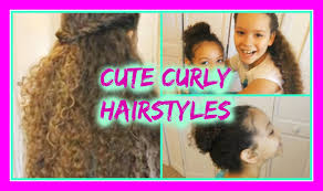 cute hairstyles for curly youtube