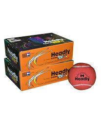headly cricket tennis balls heavy maroon pack of 1 dozen buy