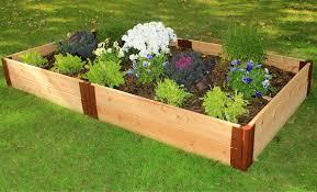 Cedar Raised Garden Bed Raised Garden Beds Raised Bed Kits Frame It All