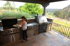 outdoor cooking spaces slideshow outdoor kitchens shine these central oregon cooking