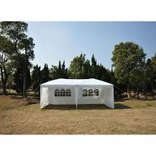10 X 5 Canopy by 10 X 20 Pop Up Tent Canopy W 4 Sidewalls 5 Colors