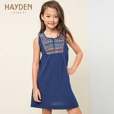 hayden girls dress navy summer costumes christmas teenagers girls