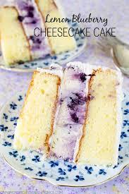 lemon blueberry cheesecake cake recipe blueberry cheesecake