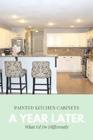 paint kitchen cabinets white diy diy painted cabinets what i d do differently next time