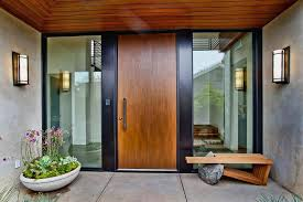 home entrance beautiful house door design entrance house with flower decor and