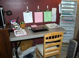 Organizing Work Desk Creating A Home Office Space Organize 365 Office Spaces