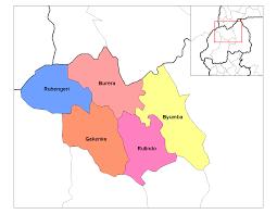 Rwanda Map North Province Districts U2022 Mapsof Net