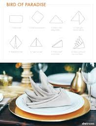 martha stewart napkins try these fancy napkin folds for your