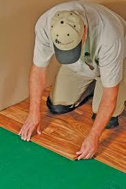 Laminate Flooring Underlay Installation Installing Flooring Over Versawalk Universal Underlayment For