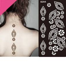 henna tattoo stencils mehndi henna body hand diy temporary tattoo