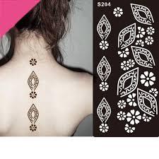 henna tattoo stencils mehndi henna body hand diy temporary tattoo