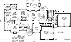 housing blueprints floor plans 21 surprisingly mansion blue prints building plans 36249