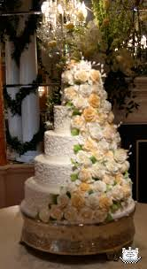 wedding cakes with spiral sugar flowers archives blog