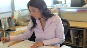 femme d affaires travailler hd stock 360 641 065