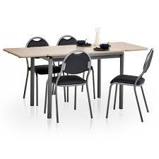 table de cuisine en stratifié table de cuisine avec rallonges basic
