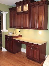 kitchen cabinet desk ideas homeofficedecoration kitchen cabinet desk ideas