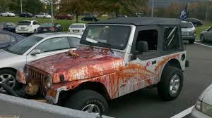 halloween vehicle of the year jeeps horror and jeep stuff