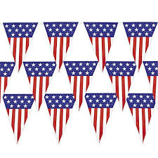 4th of july patriotic decorations pack includes a 24