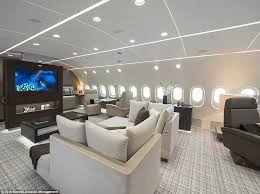 747 Dreamliner Interior Inside The Dreamliner That U0027s Been Converted Into A Private Jet