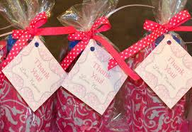 Birthday Favor Bags by Pink Damask Princess 1st Birthday Celebration