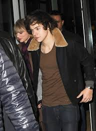 taylor swift and harry styles spotted leaving crosby hotel