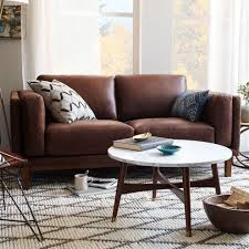 Small Leather Sofa Living Room With Sofa Brown 70 Beautiful Models And Photos