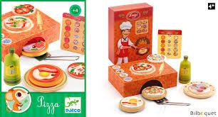 cuisine bois djeco luigi pizza jouet d imitation en bois djeco jouer à la marchande