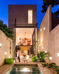 modern narrow lot homes designs free image gallery